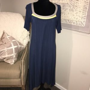 Mid length light summer dress